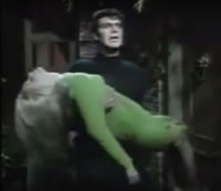 Not an uncommon scene in monster movies