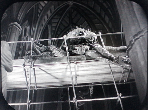 The monster in Westminster Abbey.