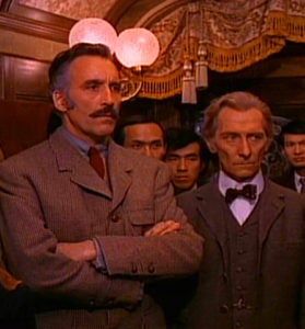 Christopher Lee and Peter Cushing disapprove
