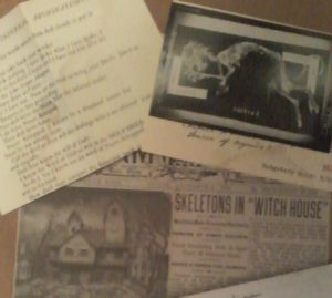 Dreams in the Witch House scrapbook