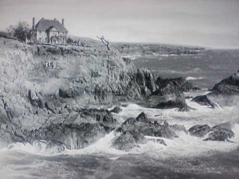 House on the Cornish Coast