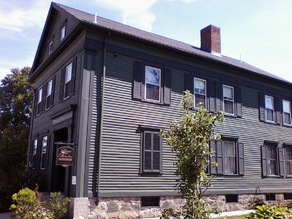 The Borden house