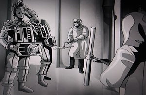 Fighting Cybermen with reactor rods